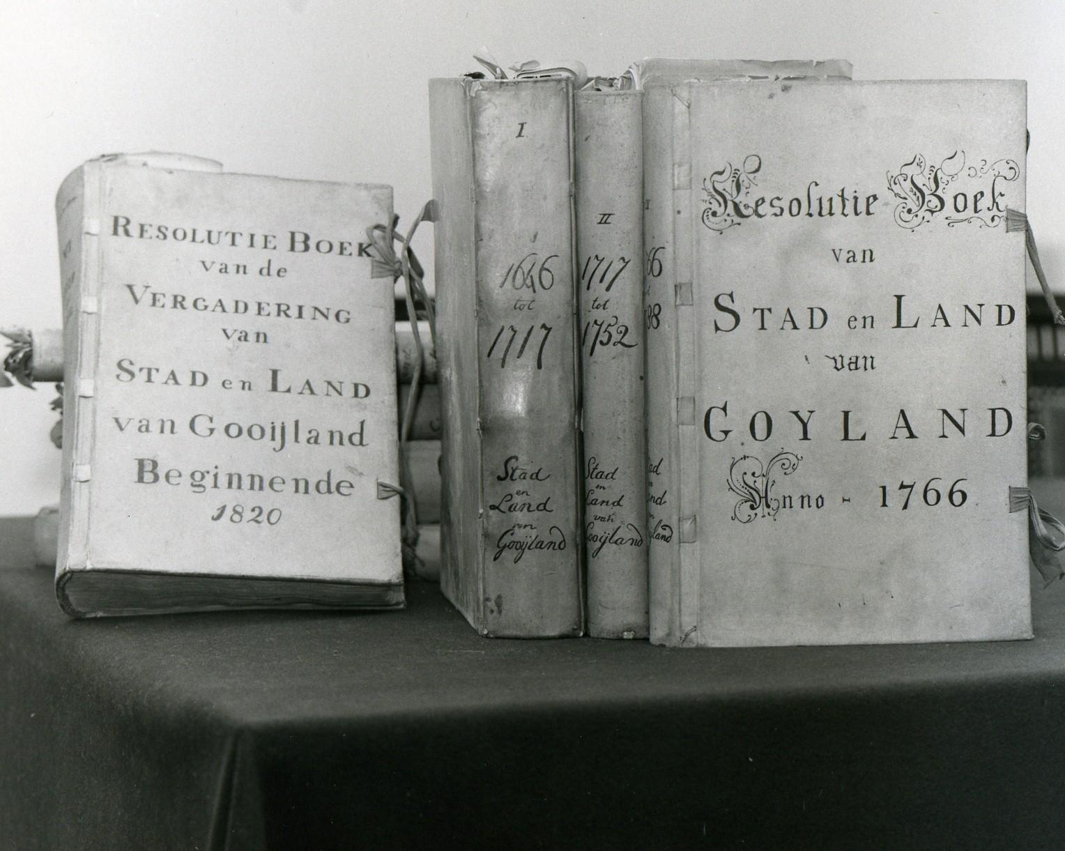 Resolutieboeken S&L