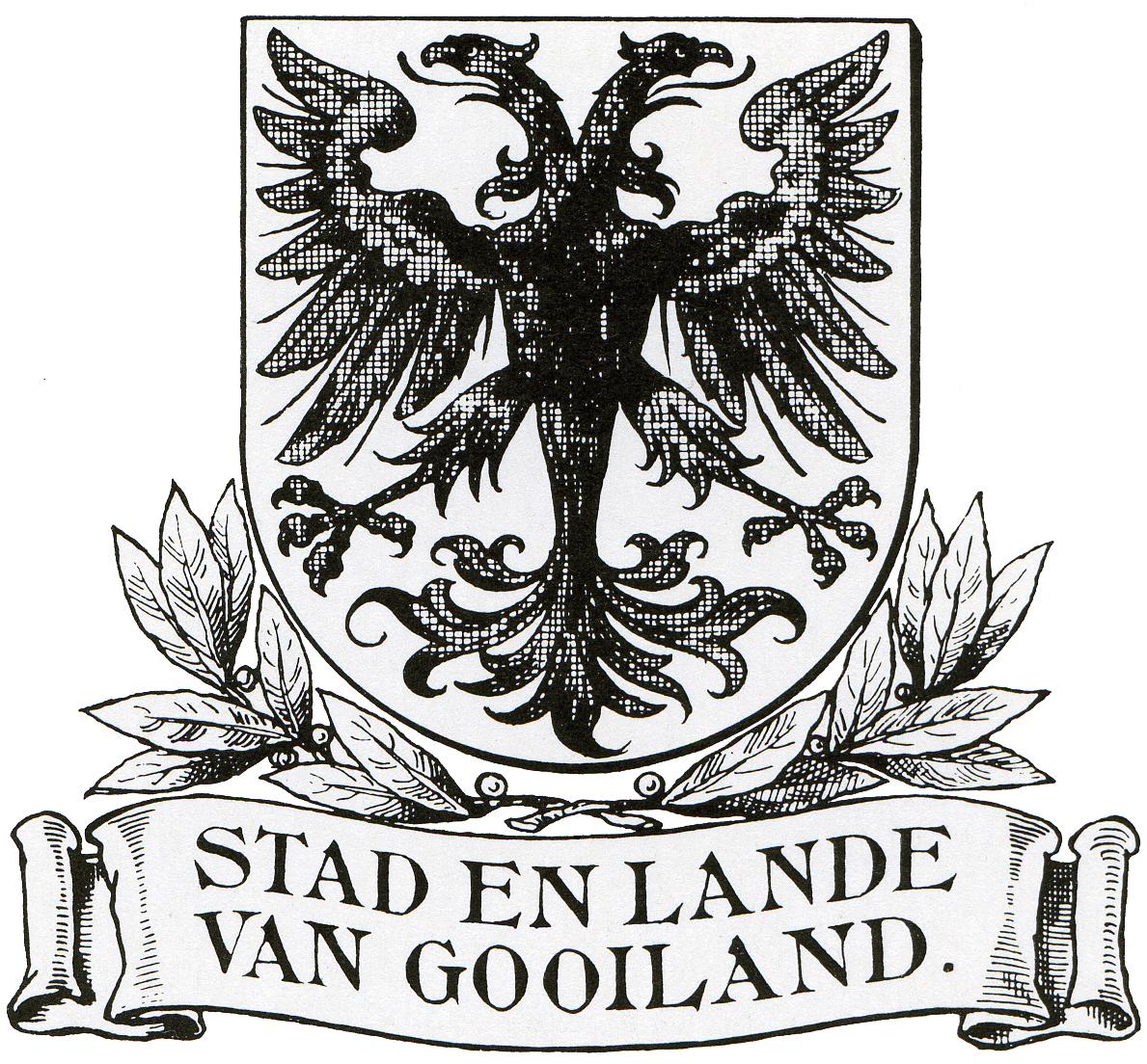Wapen van Stad en Lande van Gooiland