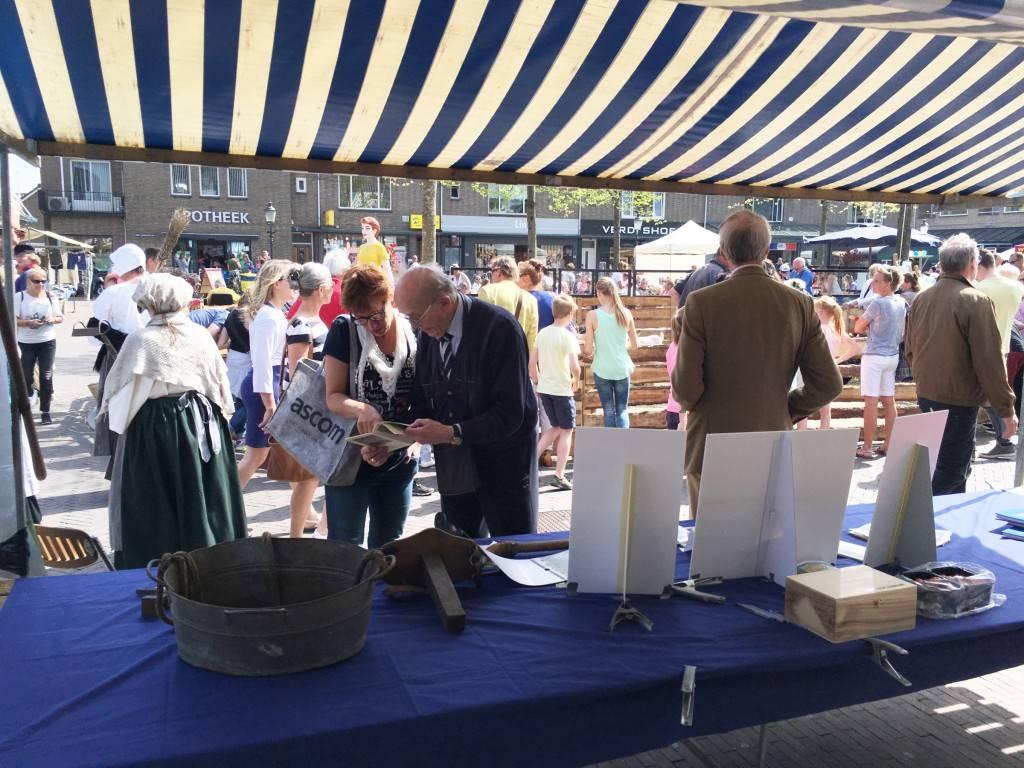 Vrijdag 6 mei 2016, Erfgooiersmarkt in Huizen