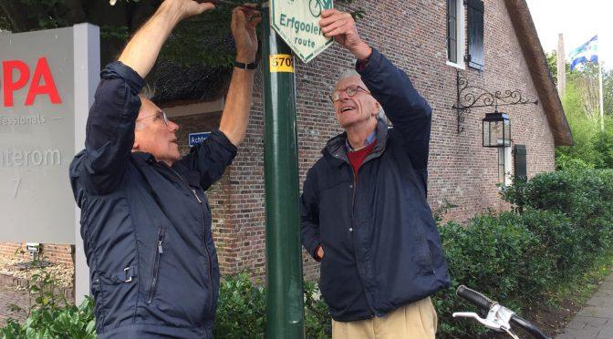 Inspectie van de erfgooiersroute