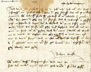 1364-1568 Schaar- en bosbrieven